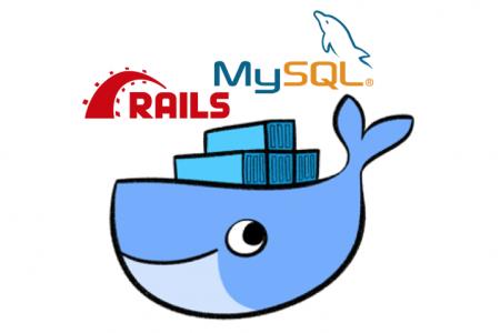 DockerでRailsとMySQLの環境構築画像
